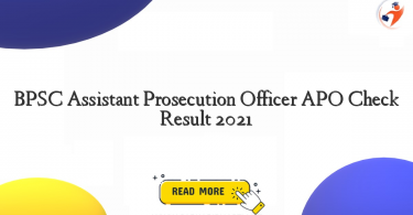 bpsc assistant prosecution officer apo check result 2021